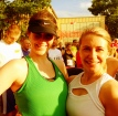 With Kelly before the 10K