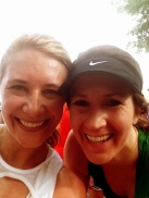 All smiles at the finish line!